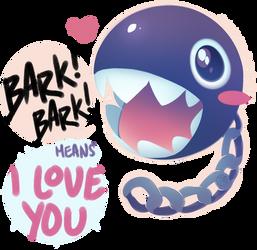 Bark bark! by chocolate-rebel