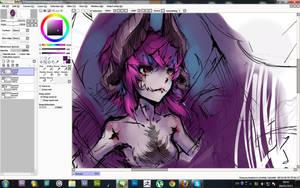 Demon In Progress by Zikwaga