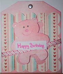 March Birthday Card by teufelchen786