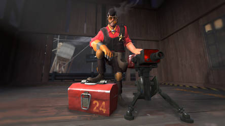 [SFM] Defensive Texan by Butterboy105