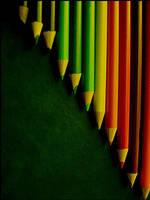 Pencils rainbow by peps4o