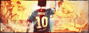 Lionel Messi #10 by kekkoART
