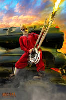 Coma the Doof Warrior Cosplay by SuspiciousTumbleweed