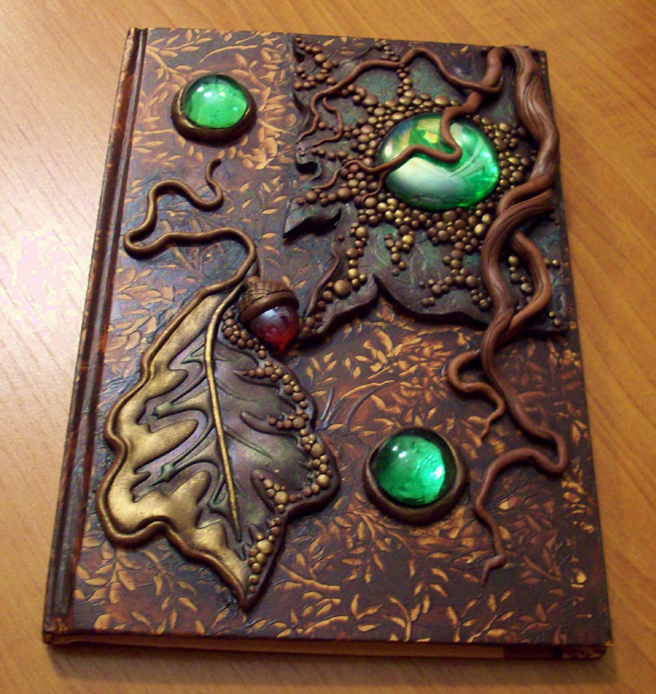 Roots and leaf journal by MandarinMoon