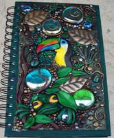 Rainforest blank journal by MandarinMoon