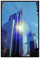 shining skyscraper by blackest-eye