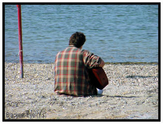 While My Guitar Gently Weeps 2 by blackest-eye
