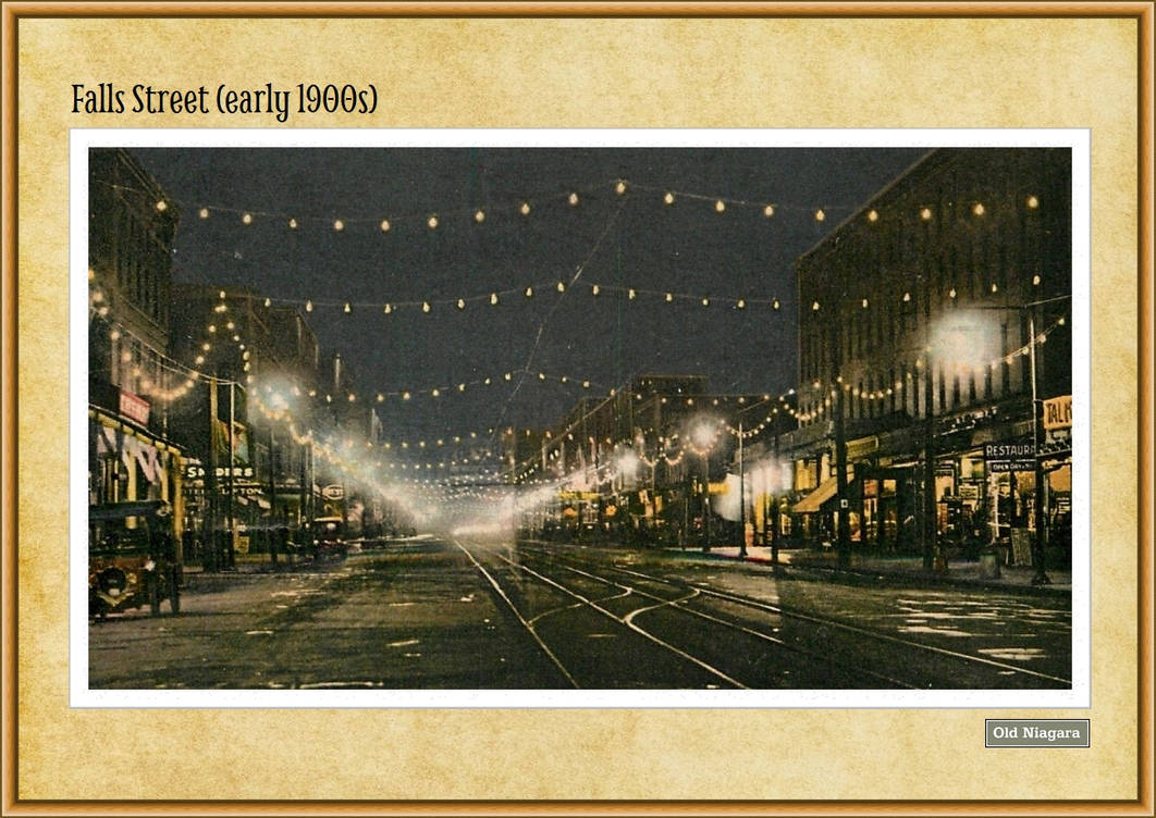 Falls Street (early 1900s) by Niagara14301
