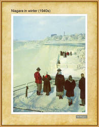 Niagara in winter (1940s) by Niagara14301