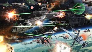 Star Wars: Battle of Endor - Rebels on the run by TDSOD
