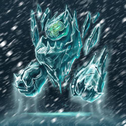 Ice spirit by AdrienMTZ