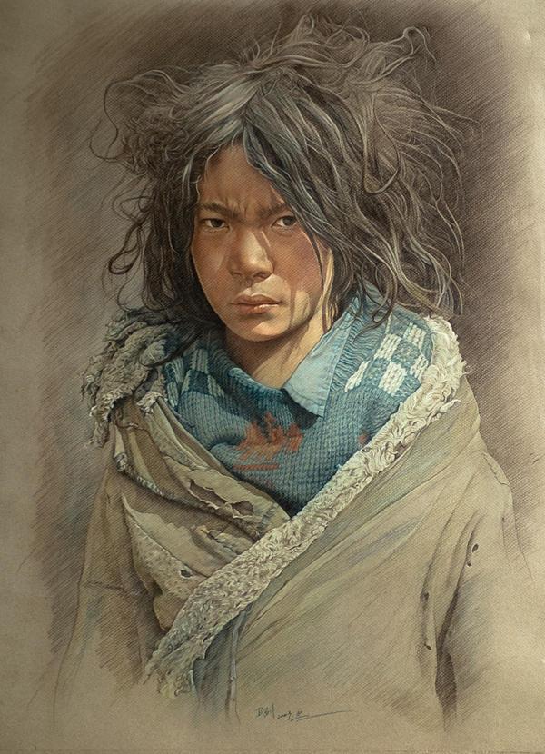 Tibetan Boy by william690c