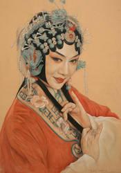 Beijing Opera actresses by william690c