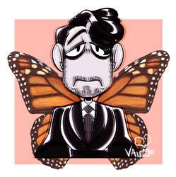 Ko-fi request: MonarchDark by PaperBagHero