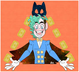 Marvin the Magnificent Magician by PaperBagHero