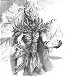 Kaleck Sangre de dragon by Halosdreams