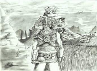 Skyrim by Halosdreams