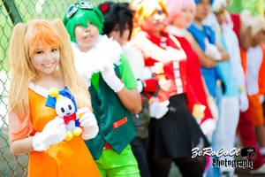 Sonic Lineup! by ArayaSkye