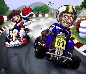Course de karting - Cadeau by rimou