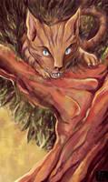 Cheshire Cat by JoanGuardiet