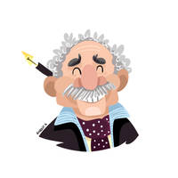 Gabriel Garcia Marquez by JoanGuardiet