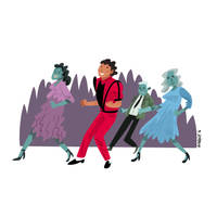 Michael Jackson by JoanGuardiet