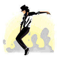The King of Pop by JoanGuardiet