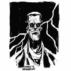 Frankenstein's Monster by JoanGuardiet