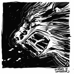 Werewolf by JoanGuardiet