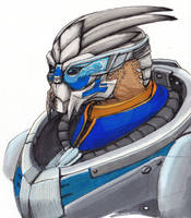 Garrus by shadesoflove