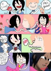 Bleach FUNNY comic by KiwiMelonSan