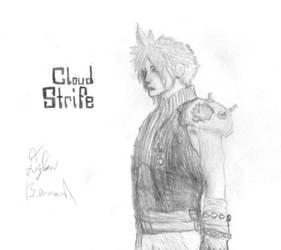 Cloud - Final Fantasy VII by LarkErinz