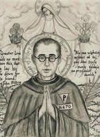Saint Maksymilian Kolbe by Theophilia