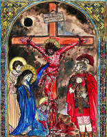 The Crucifixion of Christ by Theophilia