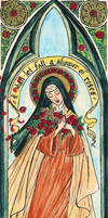Saint Therese by Theophilia