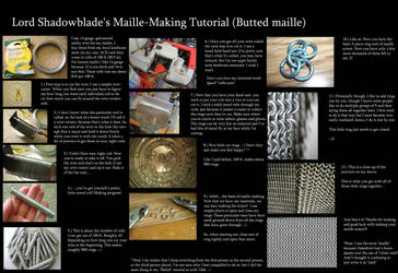 Maille-making Tutorial by Theophilia