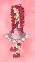 Doll Draw Color by GinnyArt