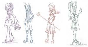 Drawings 4 by GinnyArt
