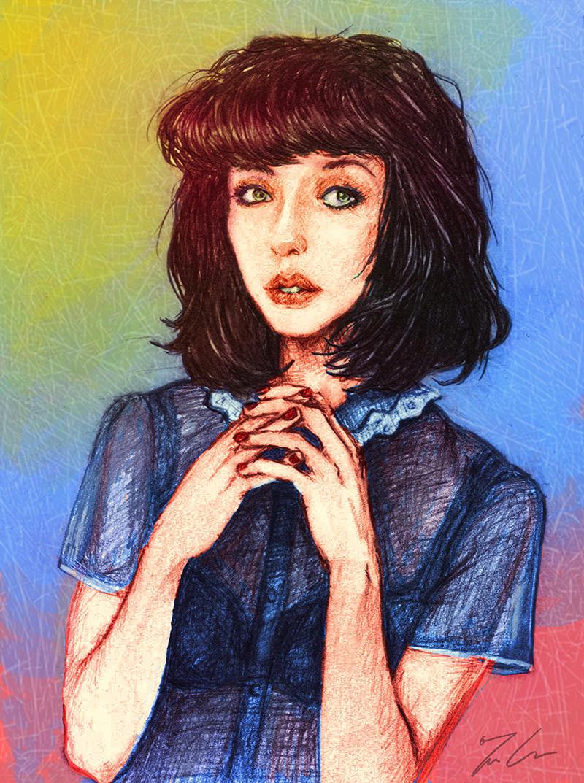Kimbra Portrait by GinnyArt