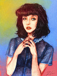 Kimbra Portrait by GinnyArt