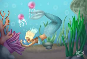 Yumiko's jellyfish by Blue-Fan-Girl