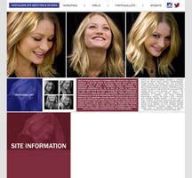 Ordered Layout ft. Emilie de Ravin by Kate-Mikaelson