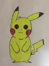 Pikachu Drawing by Symbiote-God