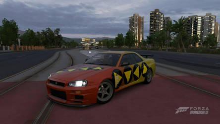 Skyline R34 GTA SA ACCESS by Peternators