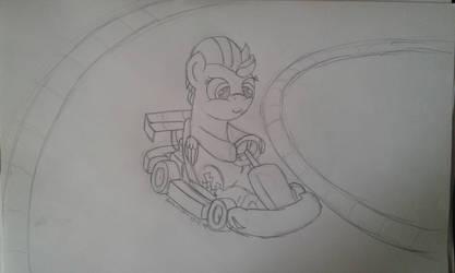 Sketch Lightnings Kart by Peternators