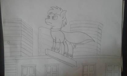 Sketch Always watching by Peternators