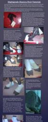 Draenei Digitigrade hooves/feet tutorial by VickiBrownies