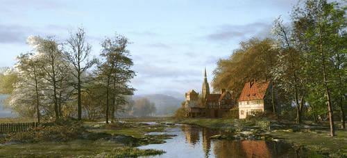 Rural Hamlet by DIGITAL-DOM