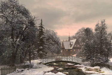 Winter Retreat by DIGITAL-DOM