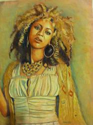 beyonce pastel by dezz1977